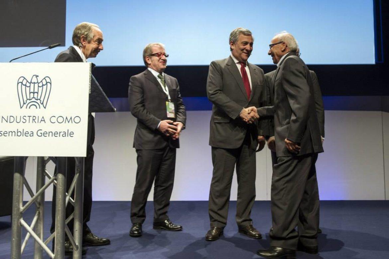 Medaglia d'oro per i 50 anni di lavoro – Bergaminelli Gerlando